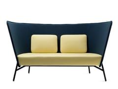 - 2 seater fabric sofa AURA | Sofa - Inno Interior Oy