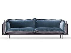 - 2 seater fabric sofa AUTO-REVERSE | Fabric sofa - Arketipo
