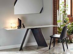 - Rectangular ceramic console table AX | Ceramic console table - Bonaldo