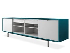 - Lacquered sideboard with doors AXIA | Lacquered sideboard - Poliform