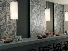 - Wall/floor tiles with concrete effect AZIMUT PATCHWORK - NOVOCERAM