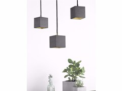 - Direct light cement pendant lamp [B6] DARK | Direct light pendant lamp - GANTlights