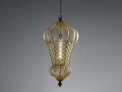 Lampada a sospensione in vetro di MuranoBABÀ MS/EB 105 - SIRU