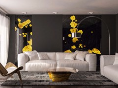 Vetro decoratoBACIO NERO - TECNOTELAI