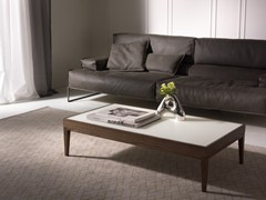 - Low solid wood coffee table BARNABY | Rectangular coffee table - Pacini & Cappellini