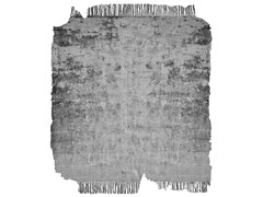 - Handmade rug BARTAURE SILVER FROZEN CUT - HENZEL STUDIO