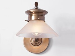 - Brass wall lamp BASEL I | Wall lamp - Patinas Lighting
