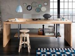 Modulo cucina freestanding in rovereSP. 60 - ALTA CORTE