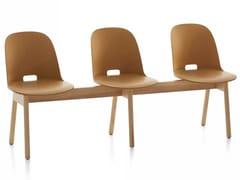 - Seduta su barra in legno ALFI | Seduta su barra - Emeco