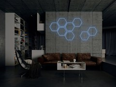 - Wall-mounted neon light installation BEE - Sygns