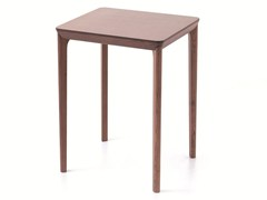 - Contemporary style rectangular wooden high table BELLEVUE T06 - Very Wood