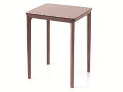 - Tavolo alto rettangolare in legno in stile moderno per contract BELLEVUE T06 - Very Wood