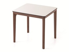- Contemporary style rectangular square wooden contract table BELLEVUE T05 - Very Wood
