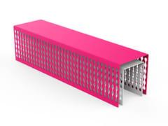 Panchina in acciaio zincato senza schienaleMULTIPLICITY | Panchina - LAB23