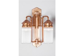 - Direct light brass wall lamp BERLIN V | Wall lamp - Patinas Lighting