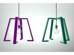 - Painted metal pendant lamp BERLINER 2 - Altinox Minimal Design