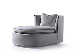 - Upholstered fabric day bed BESSIE LONGUE - FRIGERIO POLTRONE E DIVANI