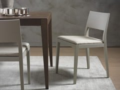 - Upholstered solid wood chair BETTY | Chair - Pacini & Cappellini