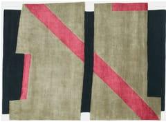 - Handmade rug BI LINE II - Deirdre Dyson