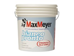 Pittura murale traspirante BIANCO PRONTO - MAXMEYER BY CROMOLOGY ITALIA