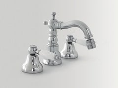 - 3 hole countertop bidet tap with swivel spout DOVER | Bidet tap with swivel spout - BATH&BATH