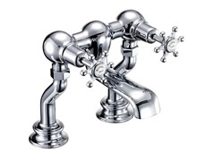 - Chrome-plated chromed brass bathtub tap with aerator BIRKENHEAD REGENT | Chromed brass bathtub tap - Polo