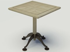 - Square oak table BISTROT | Square table - Paolo Castelli