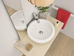 Lavabo da appoggio rotondo in ceramicaBLEND | Lavabo da appoggio - ARTCERAM