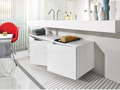- Modular Corian® wall cabinet BLOCK 48 | Corian® wall cabinet - MAKRO