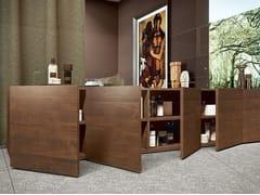 - Modular wooden bathroom cabinet BLOCK 48 | Wooden bathroom cabinet - MAKRO