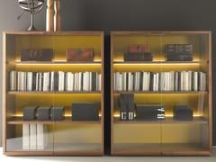 Libreria / vetrina in legno e vetroBLOCK - MARTEX