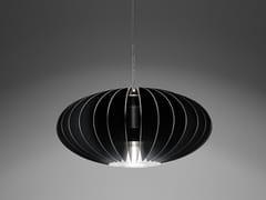 - LED aluminium pendant lamp Blume D - PURALUCE