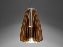 - LED aluminium pendant lamp Blume L - PURALUCE