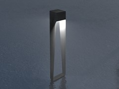 Paletto luminoso in acciaio zincatoBNL 900 | Paletto luminoso a LED - ARALIA - LYX-LUMINAIRES