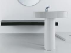- Freestanding pedestal ceramic washbasin BOING | Freestanding washbasin - GSG Ceramic Design