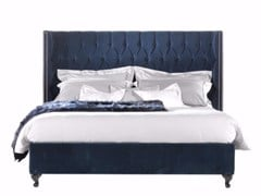 - Velvet bed with tufted headboard BOND_1 - Gianfranco Ferré Home