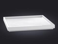 - Square resin tray BORDA | Resin tray - Vallvé Bathroom Boutique