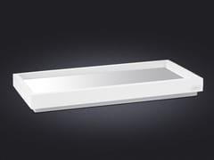 - Rectangular resin tray BORDA | Rectangular tray - Vallvé Bathroom Boutique