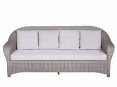 - 3 seater garden sofa BORNEO | 3 seater sofa - Tectona