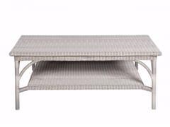 - Rectangular garden side table BORNEO | Rectangular coffee table - Tectona