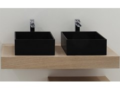 - Countertop rectangular washbasin BOX 33 | Countertop washbasin - GSG Ceramic Design