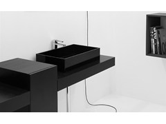- Countertop rectangular washbasin BOX 60 | Countertop washbasin - GSG Ceramic Design