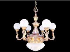 - Lampada a sospensione a luce diretta in ottone MOSCOW | Lampada a sospensione in ottone - Patinas Lighting