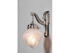 - Lampada da parete a luce diretta in nichel BRATISLAVA II | Lampada da parete in nichel - Patinas Lighting