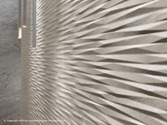 - White-paste 3D Wall Cladding BRAVE WALL | White-paste 3D Wall Cladding - Atlas Concorde