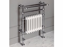- Chrome floor-standing towel warmer BRENT 1 - BATH&BATH