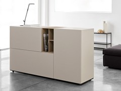 - Modular lacquered wooden sideboard BXBM82 - Caccaro