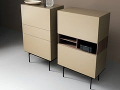 - Modular lacquered wooden sideboard BXCFA - Caccaro