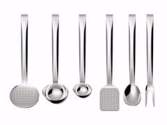 Set utensili da cucina in acciaio inoxBRIGATA - ALESSI