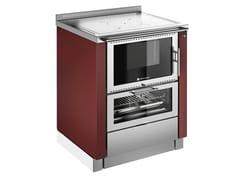 Cucina a legna in acciaio inoxÖKOALPIN BU - PERTINGER